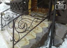 Кованые перила и ограждения - Кузница Казани