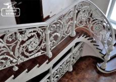 Кованые перила в Казани - Кузница Казани