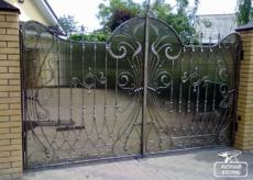 Кованые ворота - Кузница Казани
