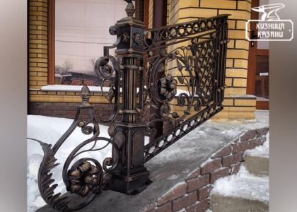 Кованые перила барокко - Кузница Казани