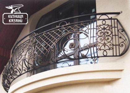 Кованый балкон Набережные Челны - Кузница Казани