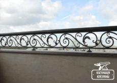 Кованый балкон Альметьевске -Кузница Москвы