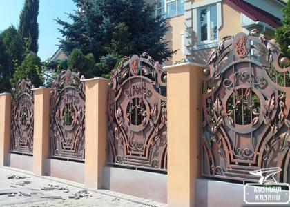 Кованый забор Казань - Кузница Казани