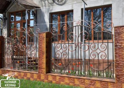 Кованый забор - Кузница Казани