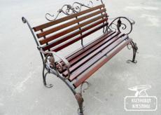Кованые скамейки - Кузница Казани
