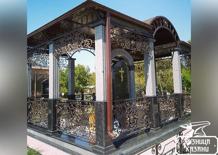 Кузница Казани - кованые ворота, кованые перила