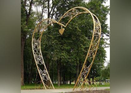 Кованая арка - Кузница Казани