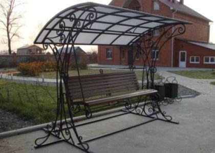 Кованые качели - Кузница Казани